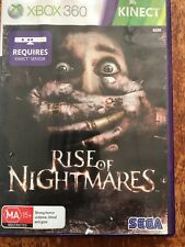 Rise Of Nightmares With Manual Microsoft Xbox 360 PAL