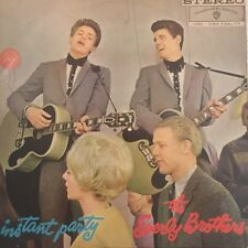 "THE EVERLY BROTHERS - Instant Party 12"" Vinyl LP Record AUSTRALIA 1962 Mono"