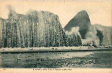 CPA A resaca na bahia do Rio de Janeiro em 24-2-1906 BRAZIL (622786)