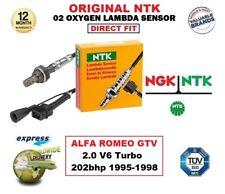 NGK NTK O2 Sauerstoff Lambdasensor für Alfa Romeo GTV 2.0 V6 Turbo 202bhp