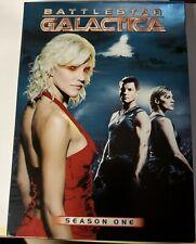 Lot of 3 BSG BATTLESTAR GALACTICA DVD complete Seasons 1, 2, and 2.5