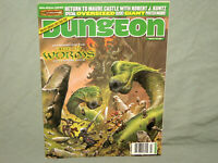 D&D - DUNGEON MAGAZINE  #124 (RARE MAURE CASTLE ISSUE with POSTER and NR MINT!!)