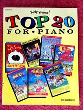 KIDS'  PRAISE !  TOP  20  FOR  PIANO    SHEET MUSIC