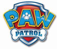Paw Patrol logo Edible Image cake Toppers Pre CUT6cm x8.5cm #71