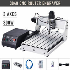 Usb 3 Axis 300w 3040t Cnc Router 3d Engraver Engraving Drilling Milling Machine