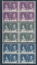 [311553] Fiji good set in blocks of 4 stamps very fine MNH