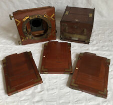 Antique Wooden Camera/Photography Parts Inc Dallmeyer Box Camera For Restoration