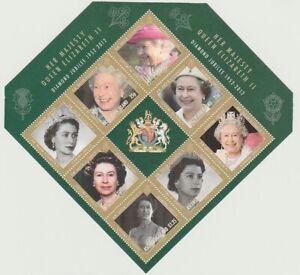 ASCENSION 2012 MINT Diamond jubilee sheet MS1127 MNH