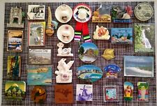 Souvenirs Int. Fridge Magnets (South & Central America, Caribbean), Lot of 31