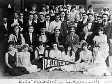 Harold Lloyd. Rolin Film Company 1916 A3 Caja De Lona