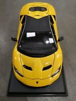 MAISTO 1:18 SCALE Lamborghini Centenario Metallic Yellow Diecast CAR SEE VIDEO