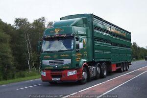 Truck Photos British UK Cattle Livestock Floats Photographed in UK