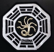 Lost Tv Series Dharma Medusa Logo 4x4 Embroidered Patch