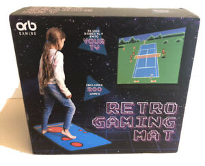 ORB RETRO GAMING MAT TV PLUG AND PLAY 200 GAMES NEW SEALED