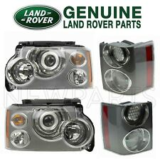 NEW For Land Rover Range Rover Left & Right Halogen Headlights & Tail Lights Kit