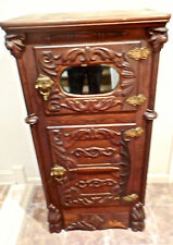 The Most Amzing Antique Oak Parlor Icebox You Will Ever Find From Estate!