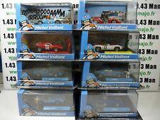 Lot 8 voitures altaya IXO 1/43 diorama BD MICHEL VAILLANT impair