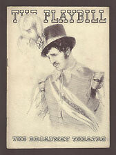 """George Houston """"THE O'FLYNN"""" Brian Hooker / Russell Janney 1934 FLOP Playbill"""