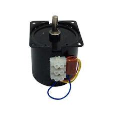 60KTYZ 8Rpm AC Synchronous Gear Motor 14W 220-240V 50/60HZ Pure Copper Coils
