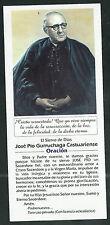 Estampa del Siervo Jose Pio andachtsbild santino holy card santini