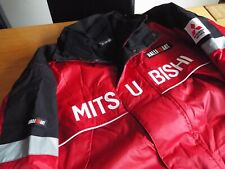 MITSUBISHI WRC RALLIART Team Rally jacket Size XL NEW inner fleece Race Rally