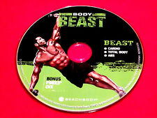 BODY BEAST - BEAST: Cardio + Total Body + Abs + Bonus P90X3 CVX - Fitness DVD *