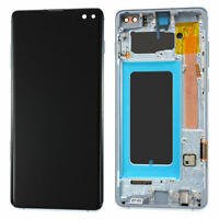 OEM OLED Display LCD Touch Screen + Frame For Samsung Galaxy S10 Plus Prism Blue