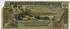 1896 $1 Silver Certificate Large Size Education Note FR-224
