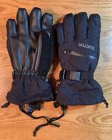 NEW Burton Men's Snowboard Snow Ski Gore-Tex Winter Glove True Black Size, SMALL