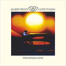 Barry White • I Love To Sing The Songs  Import 24 Bit Remastered CD  Bonus Track