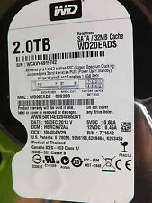Western Digital 2 TB WD20EADS-00S2B0    DCM: HBRCNV2AA   16DEC2013   Festplatte