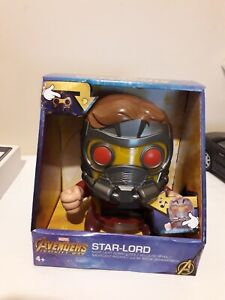 Marvel Avengers Infinity War Star Lord Night Light Digital LCD Alarm Clock Lamp