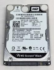 Western Digital WD Scorpio Black WD5000BEKT 500GB SATA Laptop Hard Drive