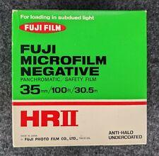 1977 35MM Fujifilm HRII Microfilm Negative (100FT)