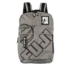 Fuji Sports Grey Lifestyle BackPack Back Pack Great for Work School or Training