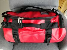 NEW The North Face Base Camp Duffel 50L TNF Red Black Small Backpack Camping Bag