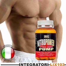 pre workout Ossido nitrico aumento massa muscolare ornitina arginina compresse