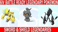 Pokemon Sword & Shield 6IV Zeraora, Marshadow, Necrozma Legendary Battle Ready!!