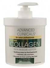 Advanced Clinicals Collagen Skin Rescue Lotion Hydrate, Moisturize, Lift, Firm.