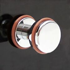 Billet Chrome Dash Knob + Colored Rings Fits Universal GM Headlight Switch Chevy