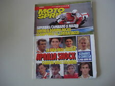 MOTOSPRINT 45/1992 PROVE HONDA SPACY 125/BETA ZERO 50
