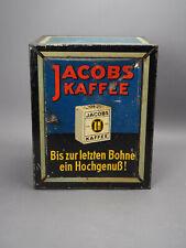 Blechkasten Blechdose Kolonialware JACOBS KAFFEE Werbung Reklam Tante Emma Laden