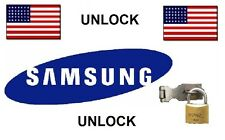 Samsung Galaxy S3 S4 S5 S6 S7 S8 Note 2 3 4 5 7 HTC VERIZON Unlock Service Code