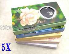 SALE Wholesale 5 different pendant Wish Pearl Necklace Gift set box-who3623