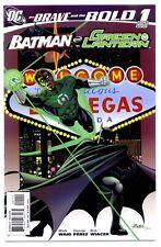 1)BRAVE AND THE BOLD Vol.3 #1(4/07)BATMAN/GREEN LANTERN(PEREZ)CGC IT(9.8)VARIANT