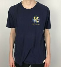 Vintage RALPH LAUREN Polo Flight Co T Shirt | Retro Sport Classic | Large L Blue