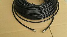 Belden 8281 HDTV SDI/HD, Digital Video BNC Male to BNC Male Black Cable, 250 Ft.