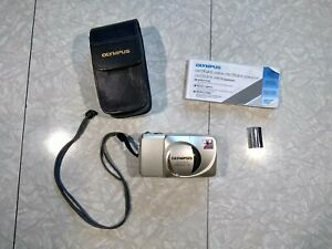 Olympus Stylus Zoom 140 With Case And Instructions