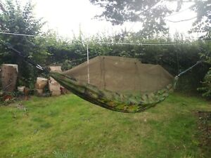Green camo hammock fly screen