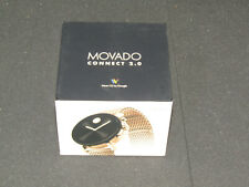 Movado Connect 2.0 Gold-one Stainless Steel Mesh Touchscreen Smart watch 3660026
